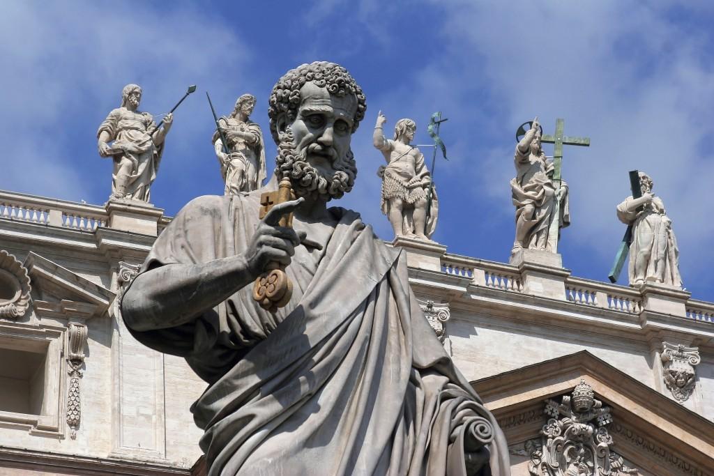 San Pietro's sculptures