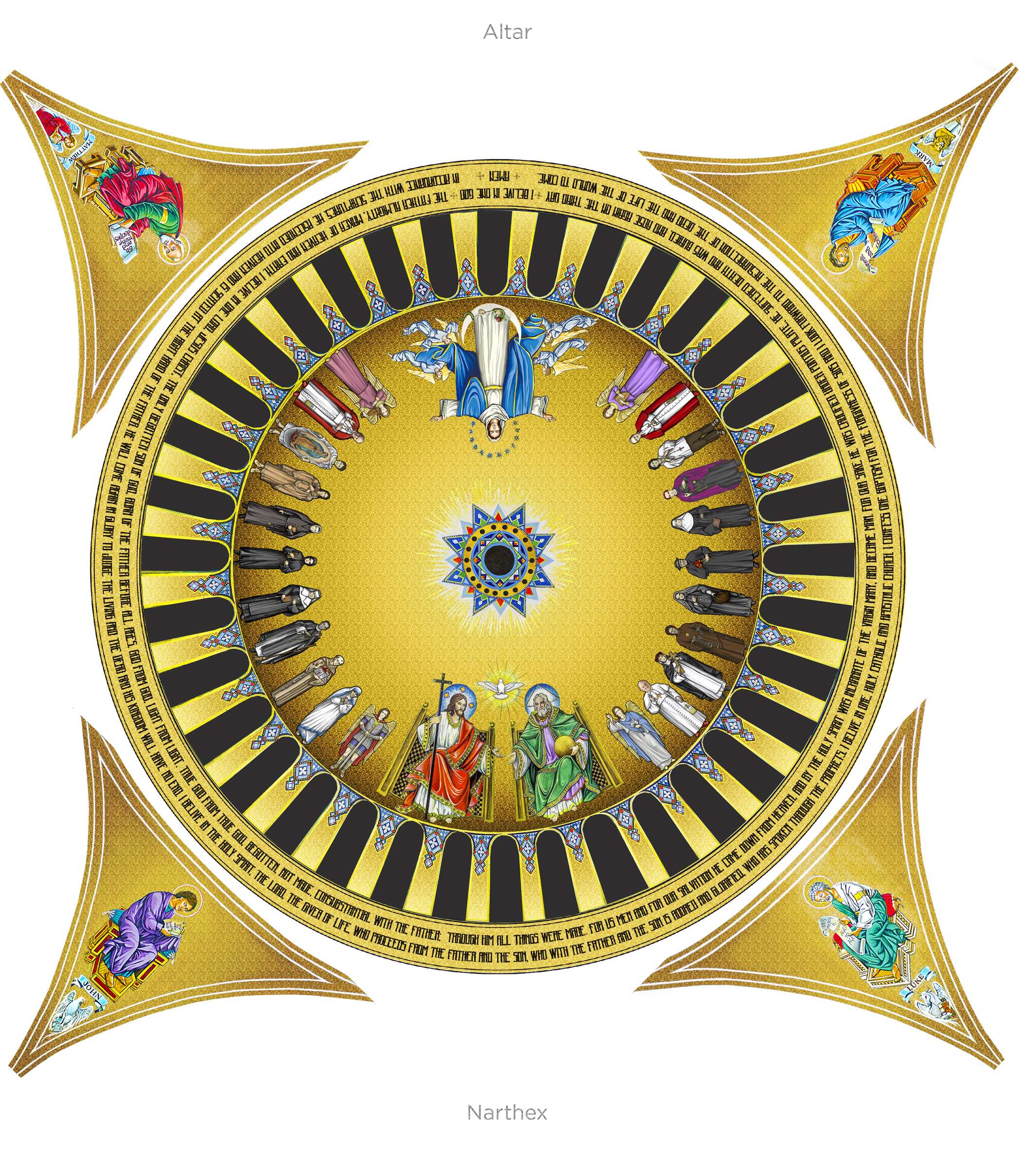 The Trinity Dome And Sharing In The Divine Life Of God Seek First